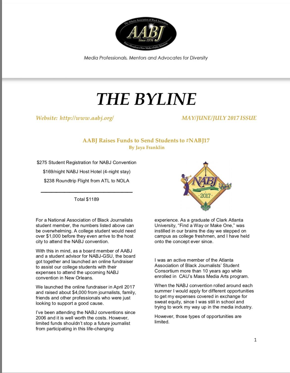 the byline mayjunejuly 2017